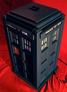TARDIS PC Case built from scratch!