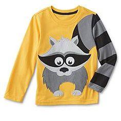 WonderKids Infant & Toddler Boy's Long-Sleeve T-Shirt - Raccoon