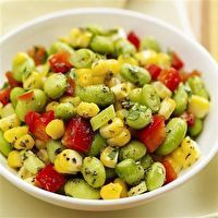 Corn and Edamame Salad (not the real photo)