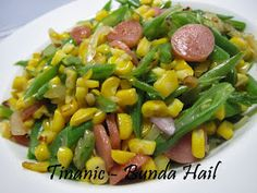 Good Healthy Recipes, Vegetarian Recipes, Cooking Recipes, Indonesian Cuisine, Indonesian Recipes, Food N, Food And Drink, Asian Vegetables, Western Food