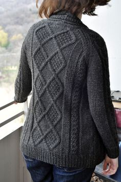 Aidez Cardigan   free pattern from Berocco