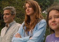2011 - The Descendants - George Clooney, Shailene Woodley, Amara Miller Hunger Games Trailer, New Hunger Games, George Clooney, Oscar 2012, Easy Movies, Great Movies, Shailene Woodley, The Descendants 2011, The Descendants