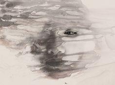 mix-fotografie-schilderkunst. De Filipijnse kunstenaar Janus Miralles maakt zeer mooie abstracte portretten waarbij hij fotografie vervlecht met schilderkunst. De gezichten, veelal in het zwart-wit, krijgen met deze twist een zekere duisternis over zich heen. Met zijn werk verkent hij de schoonheid en de kwetsbaarheid van het lichaam van de vrouw met een zekere zorg en delicatesse.