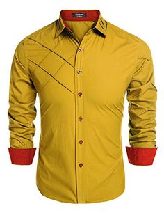 Coofandy Men's Fashion Slim Fit Dress Shirt Long Sleeve C... http://www.amazon.com/dp/B01D9IUFTA/ref=cm_sw_r_pi_dp_N9gixb0GKKMHK