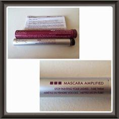 Blinc Mascara Amplified First Impressions Blinc Mascara, Lashes, Advice, Beauty, Eyelashes, Eyebrow