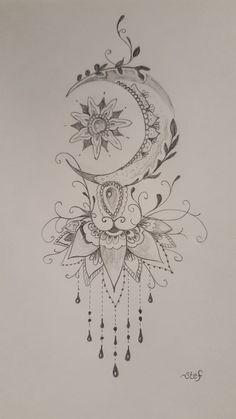 Tatuajes Tattoos, Leg Tattoos, Body Art Tattoos, Small Tattoos, Tattos, Peace Tattoos, Tattoo Thigh, Compass Tattoo, Inspiration Tattoos