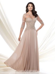 Mother of the Bride Dresses with Sleeves Sheer Neckline Inspired by Wanda Borges. - Mother of the Bride Dresses with Sleeves Sheer Neckline Inspired by Wanda Borges. Mother Of Groom Dresses, Mothers Dresses, Mother Of The Bride, Long Mothers Dress, Mob Dresses, Fashion Dresses, Wedding Dresses, Dresses 2016, Fashion Clothes