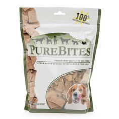 PureBites Beef Liver Freeze-Dried Dog Treats 8.8-oz >>> Check out this great image  : Dog food types