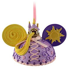 Ear Hat Rapunzel Ornament