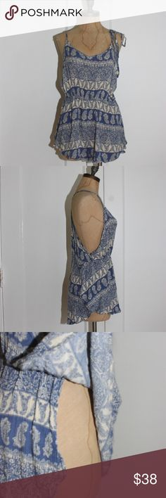 b06aafa2a38f Free People Romper In Paisley Print EXCELLENT CONDITIONS Intimately Free  People Romper In Paisley Print FRESH