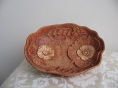 1946 Multi products art nouveau floral bowl