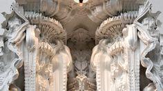 'Digital Grotesque' 3D Printed-Structures | Michael Hansmeyer and Benjamin Dillenburger - Arch2O.com