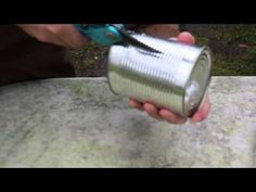 He Cut A Tin Can Into Strips, Turning It Into A Surprisingly Practical Hack - Pictures and Trending Stories Around the Web