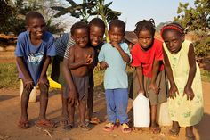Ugandan children are so gentle and generous, joyful and sweet. Westminster Medical Missions trip 2002.