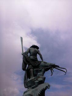 Foto del Día: El que guarda a Puerto Peñasco