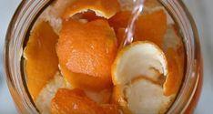 Befőttes üvegbe tette a narancs héját, majd ecetet öntött rá. Amikor kiderült, hogy miért, azonnal elkészítettük! Natural Cleaning Products, Home Remedies, Snack Recipes, Household, Food And Drink, Pudding, Good Things, Fruit, Breakfast