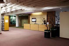 The entrance to the Bram and Bluma Appel Salon at the Toronto Reference Library! Great for welcoming guests and event registration!    For more info on booking : http://salonrentals.torontopubliclibrary.ca