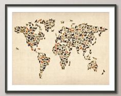 Cats Map of the World