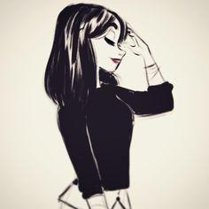 Warm up sketcharoo Amazing Drawings, Cute Drawings, Drawing Sketches, Cartoon Kunst, Cartoon Art, Character Drawing, Character Design, Estilo Disney, Drawn Art