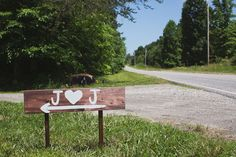 Directional Wedding Sign