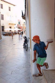 Street art. Os imagináis que fuera de verdad? :p