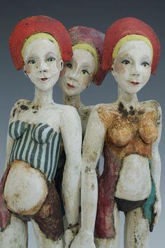Sally MacDonell_contemporary ceramics_figures_Bath