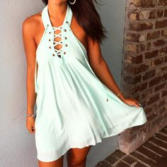 Can't get enough lace up dresses this year  $49 in store and willyjays.com !