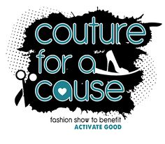 Couture For A Cause - Fashion show fundraiser by ActivateGood.org #fashion #charity #fundraiseridea