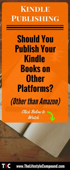 A question I get sometimes is whether you should publish your books on other platforms other than Amazon. If you're into kindle publishing and you've wondered this then you'll want to check out this video and post. Kindle publishing is an amazing way to make extra income online and can even be built up to replace your day job. Check it what I think you should do below..