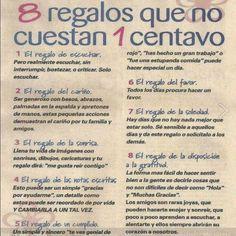 8 Regalos Que No cuestan 1 Centavo