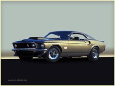 1969 Ford mustang Boss 429 Fastback -