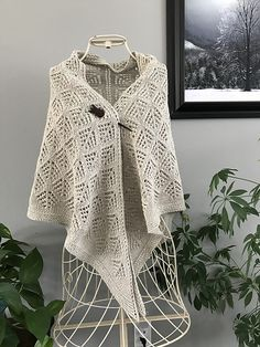 Please enjoy this pattern for FREE for the day. As a thank you, just leave a friendly hello and comment on the shawl. Happy knitting!