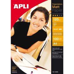 Comprar Papel Fotográfico Mate, 120 Gr Formato A4 en Bolsa Apli 12626