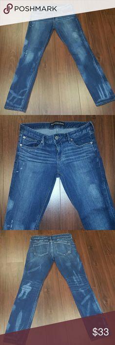 7FAM BOYCUT JEANS 25 X 32 boyfriend 7 for all mankind Seven jeans ...