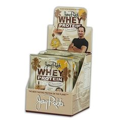 Jay Robb  GrassFed Whey Protein Isolate Powder Outrageously Delicious Chocolate 12 Packets * Details can be found by clicking on the image.