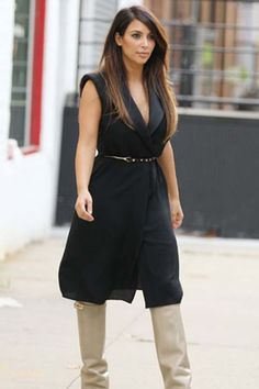 The outfit. my fave boots x