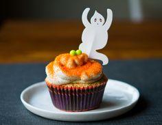 Halloween Festive Vegan Cupcakes