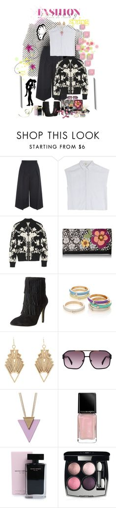 """""""spring 6 2016"""" by ntina36 ❤ liked on Polyvore featuring Erdem, rag & bone, Alexander McQueen, Relic, Simons, Chanel, Charlotte Russe, AM Eyewear, Illamasqua and Narciso Rodriguez"""