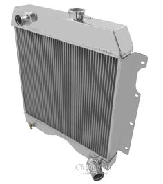 3 Row Aluminum Radiator For 1954-1964 1963 1962 1961 Jeep Willys Truck//Wagon Ez