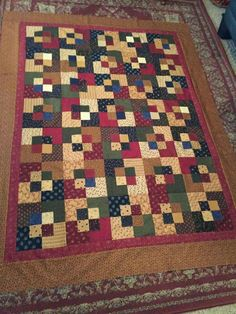 Five & Dime Quilt Pattern - StitchintheDitch.com Kansas Troubles ... : five and dime quilt - Adamdwight.com