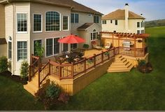 outside deck inspiration   These decks are soft to touch and have very low maintenance problems ...