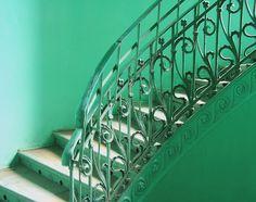 The Emerald Staircase in Praga