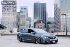 This 2011 Honda Civic FWD is running ESR 22 wheels Continental Extremecontact Sport tires with CXracing Coilovers suspension. 2011 Civic, 2011 Honda Civic, Honda Civic Vtec, Honda Civic Type R, Import Cars, Jdm Cars, Custom Cars, Ideas Para, Cool Cars