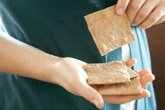 Quick Whole Wheat and Rye Crackers
