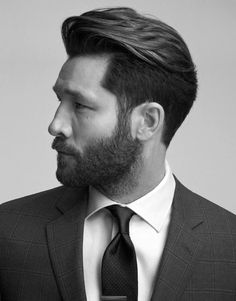 #Hairstyles For Men With Beards