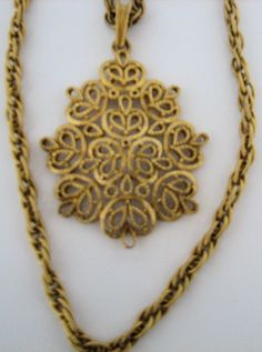 Vintage Trifari Double Strand Necklace with by LillysTreasureChest, $24.00