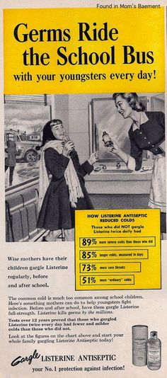 The Official 60's Site-Advertising of Yesteryear.  Listerine