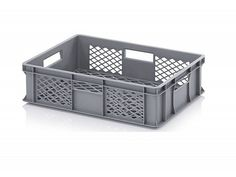 28 Litre Ventilated Perforated Euro Plastic Stacking Container - Stackable Storage Box