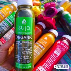 When you need a juice to match your mood....#itsthejuice #suja
