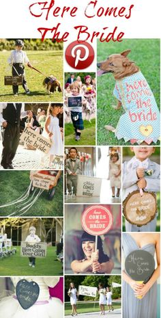 Boho Pins: Here Comes The Bride - Boho Weddings™
